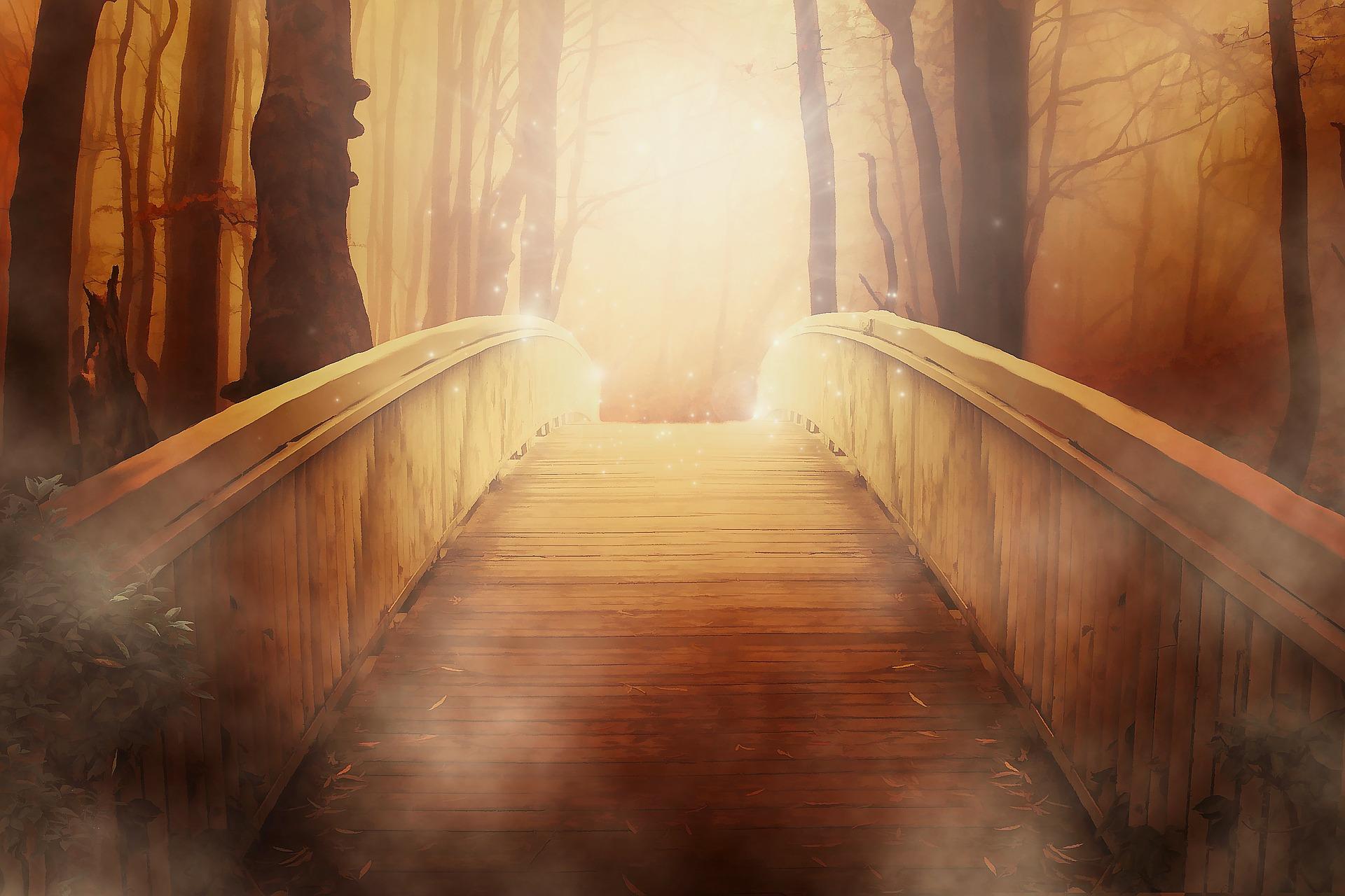 Eine goldene Brücke
